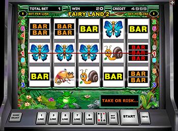 Бонусы Вулкан в автоматах Fairy Land 2