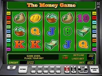 Бонусы Вулкан в автоматах The Money Game